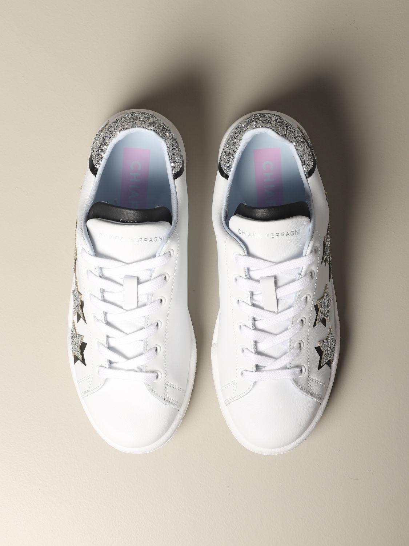 Sneakers Chiara Ferragni: Shoes women Chiara Ferragni white 3