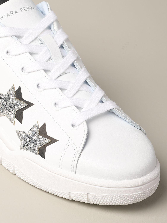 Sneakers Chiara Ferragni: Shoes women Chiara Ferragni white 4
