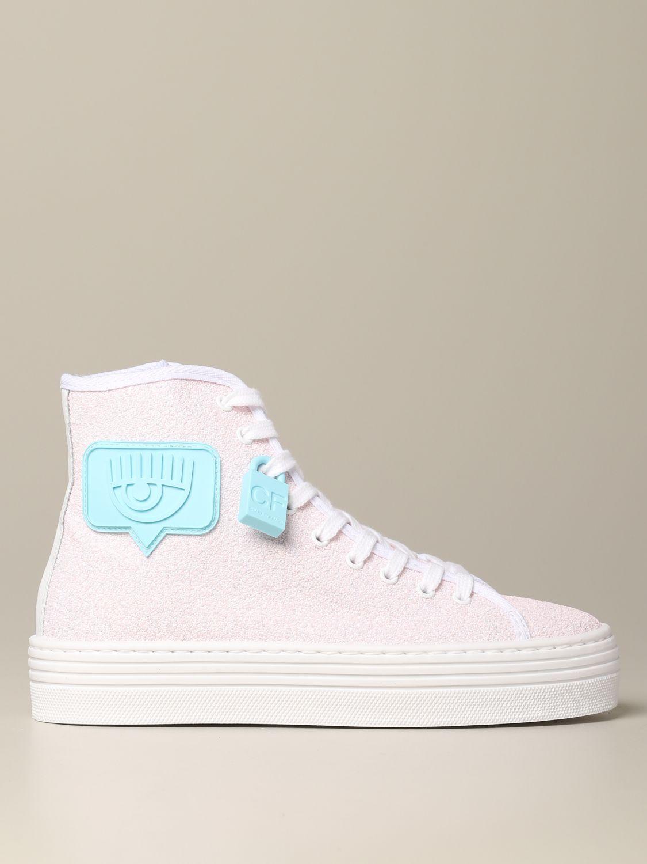 Sneakers Chiara Ferragni: Shoes women Chiara Ferragni pink 1