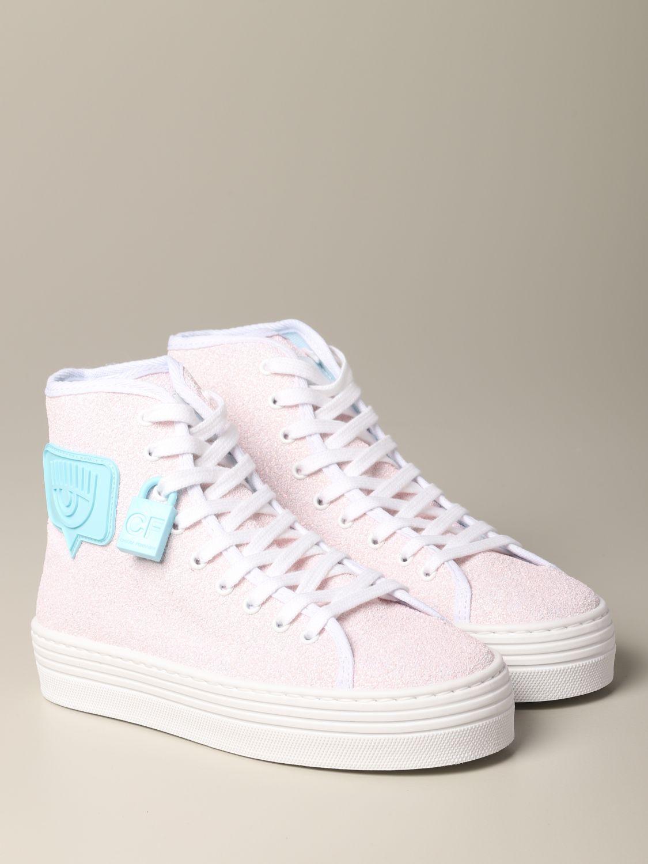 Sneakers Chiara Ferragni: Shoes women Chiara Ferragni pink 2