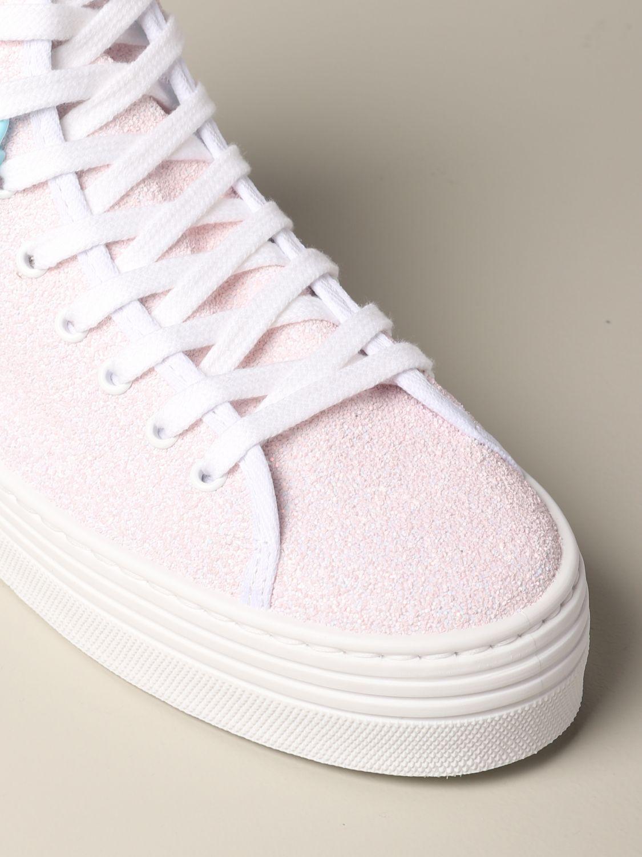 Sneakers Chiara Ferragni: Shoes women Chiara Ferragni pink 4