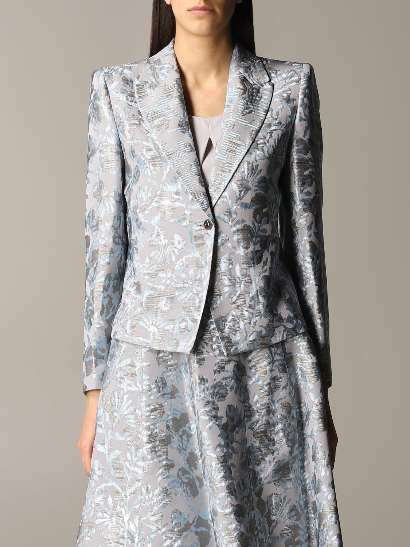 Blazer women Giorgio Armani grey 1