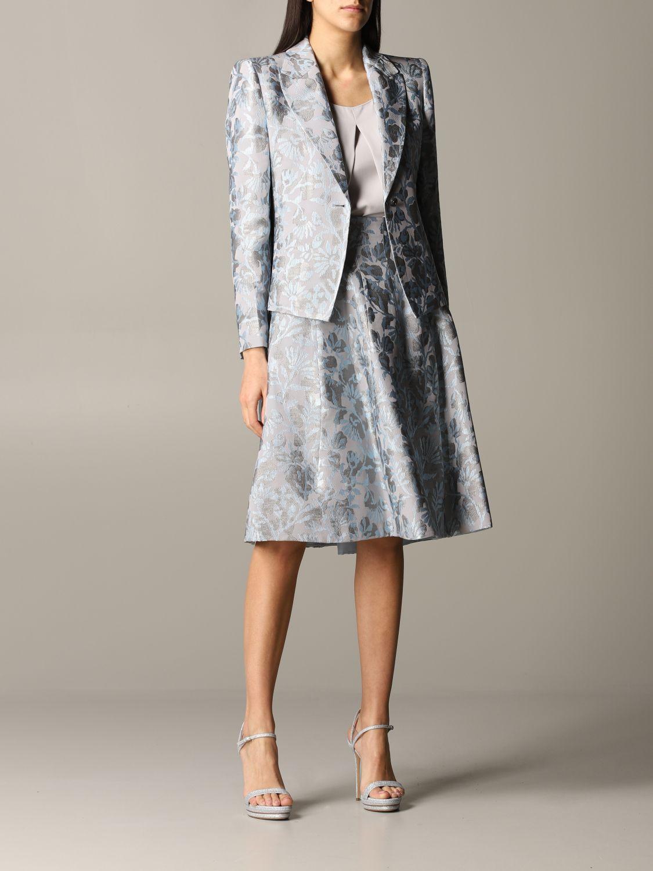 Blazer women Giorgio Armani grey 2