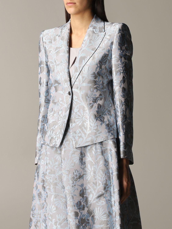 Blazer women Giorgio Armani grey 4