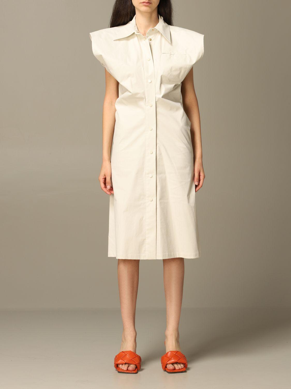 Платье Bottega Veneta: Платье Женское Bottega Veneta лед 1
