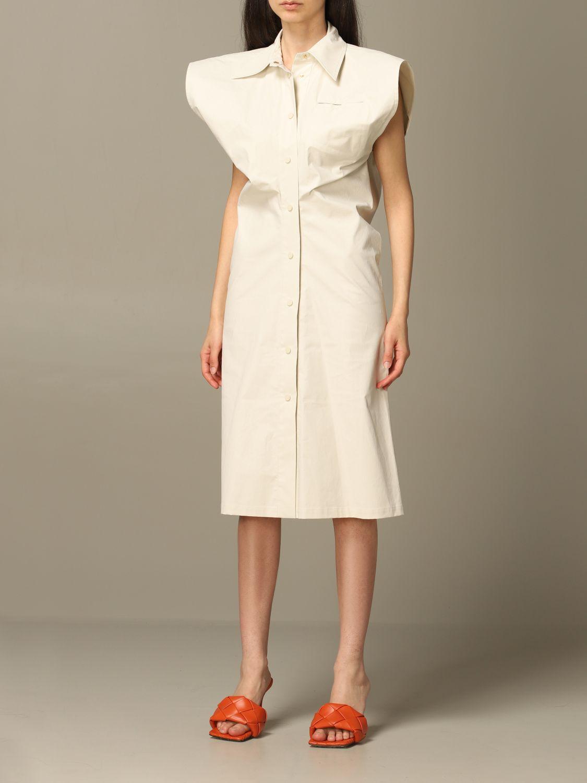 Платье Bottega Veneta: Платье Женское Bottega Veneta лед 3