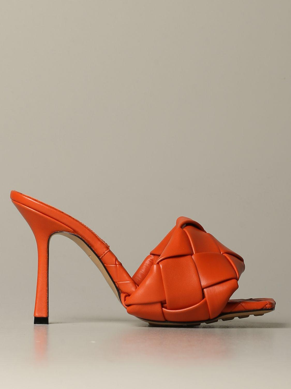 鞋 女士 Bottega Veneta 橙色 1
