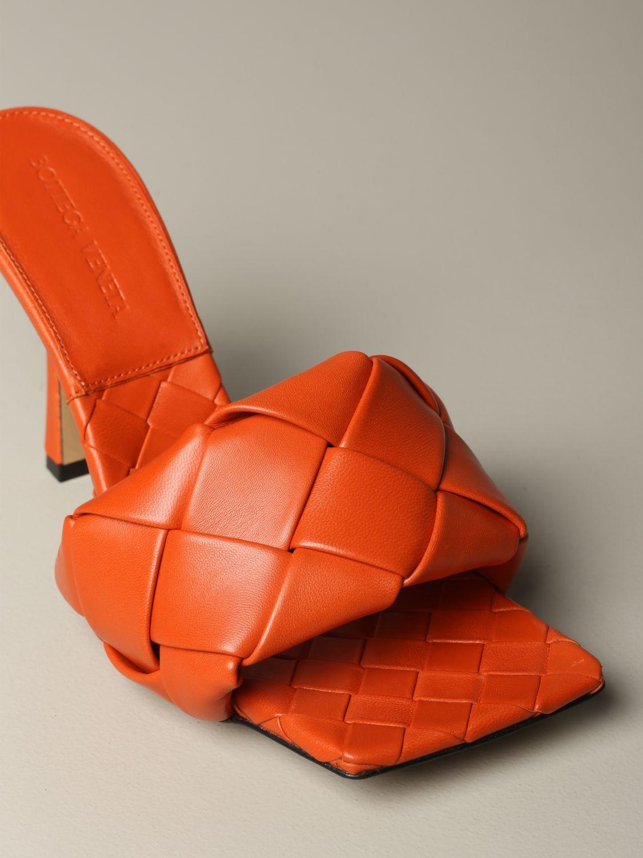 鞋 女士 Bottega Veneta 橙色 3