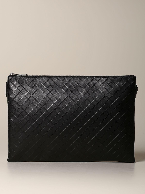 Shoulder bag Bottega Veneta: Bottega Veneta bag in woven leather black 1