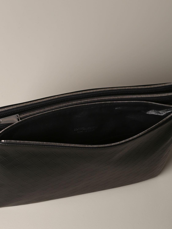 Shoulder bag Bottega Veneta: Bottega Veneta bag in woven leather black 4