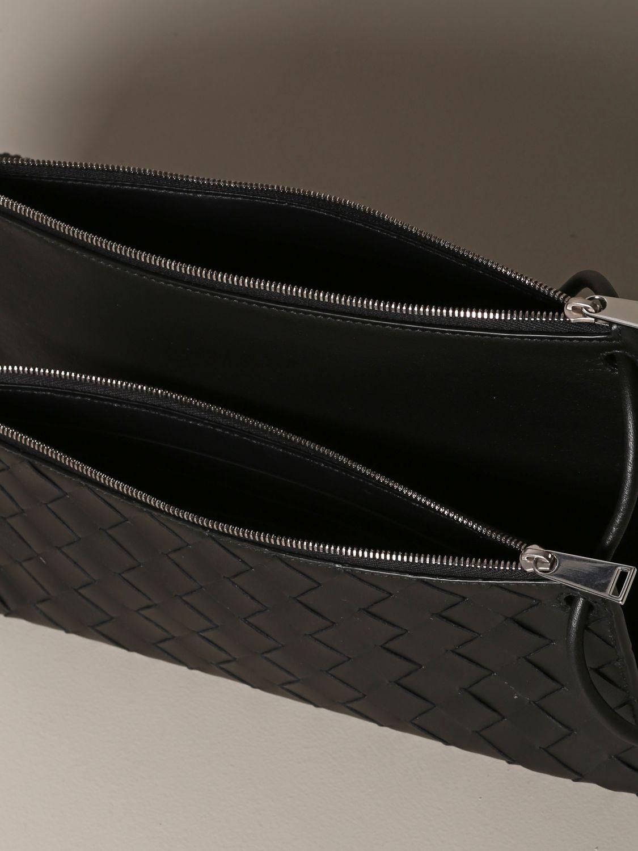 Belt bag Bottega Veneta: Bottega Veneta bag in woven leather black 4