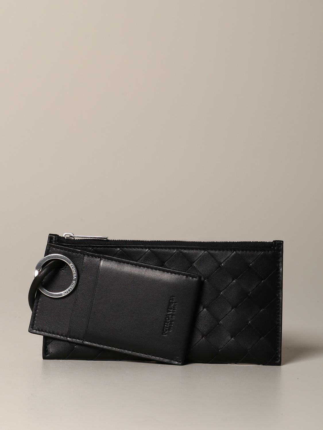 Briefcase Bottega Veneta: Bottega Veneta briefcase in woven leather black 1