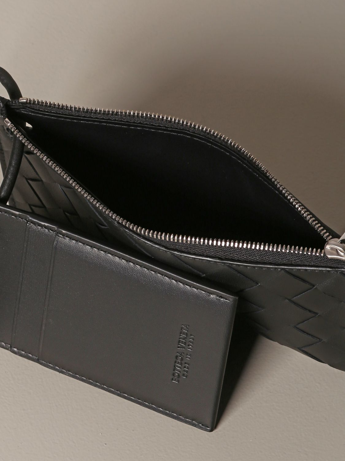 Briefcase Bottega Veneta: Bottega Veneta briefcase in woven leather black 4