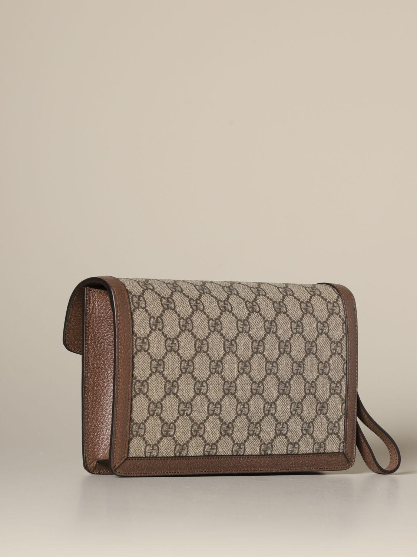 Clutch Gucci: Schultertasche damen Gucci beige 2