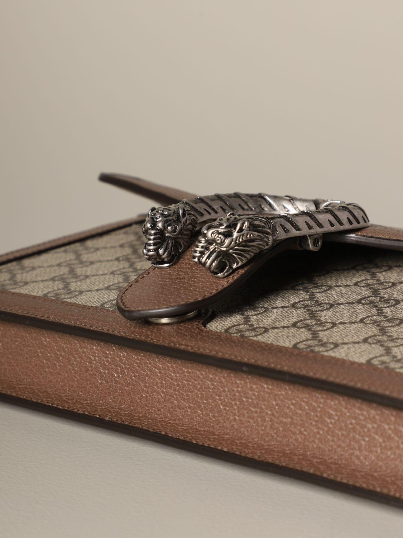 Clutch Gucci: Schultertasche damen Gucci beige 3