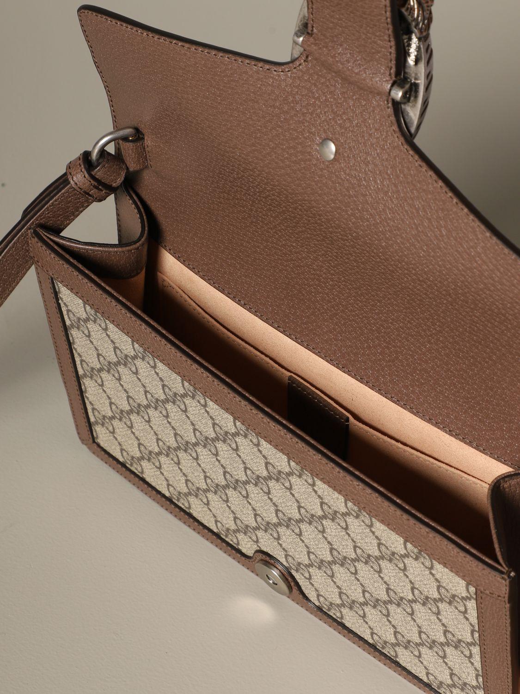 Clutch Gucci: Schultertasche damen Gucci beige 4