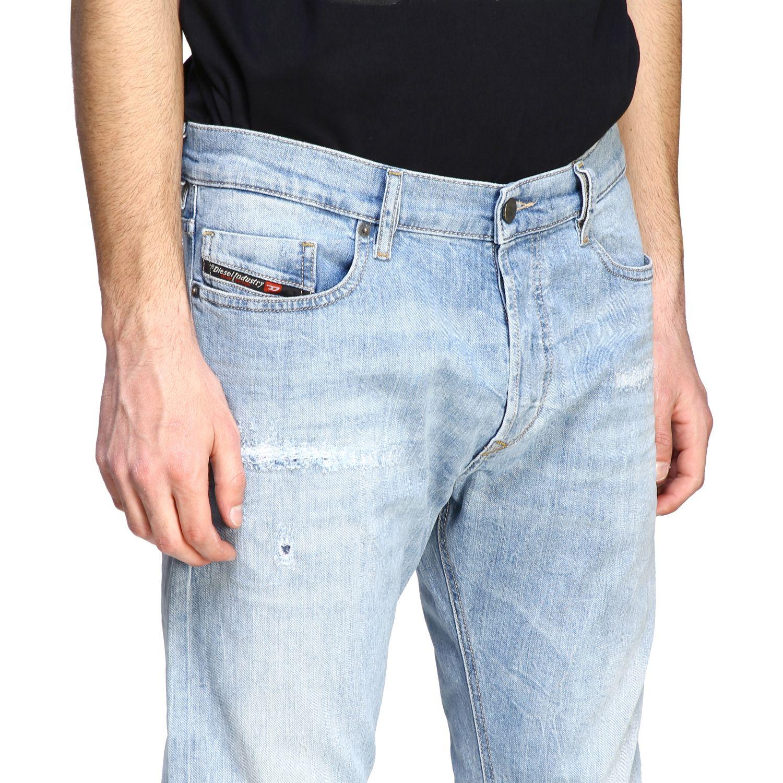 Jeans Diesel: Jeans men Diesel stone bleached 5
