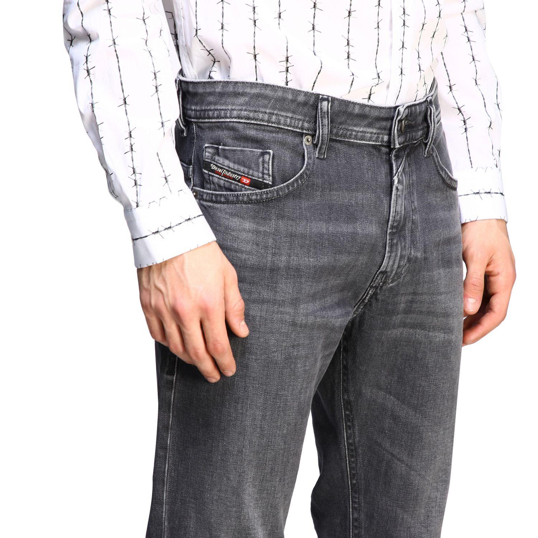 Jeans Diesel: Jeans men Diesel black 5