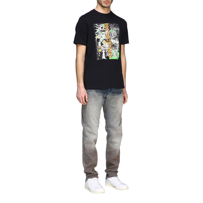Jeans Diesel: Diesel D-Strukt Jeans aus Used Stretch-Denim mit normaler Taille stone washed 2