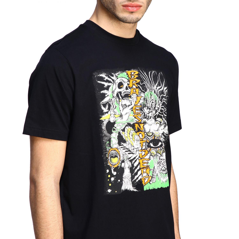 T-Shirt Diesel: Diesel T-Shirt mit Rundhalsausschnitt und Skate Print schwarz 5