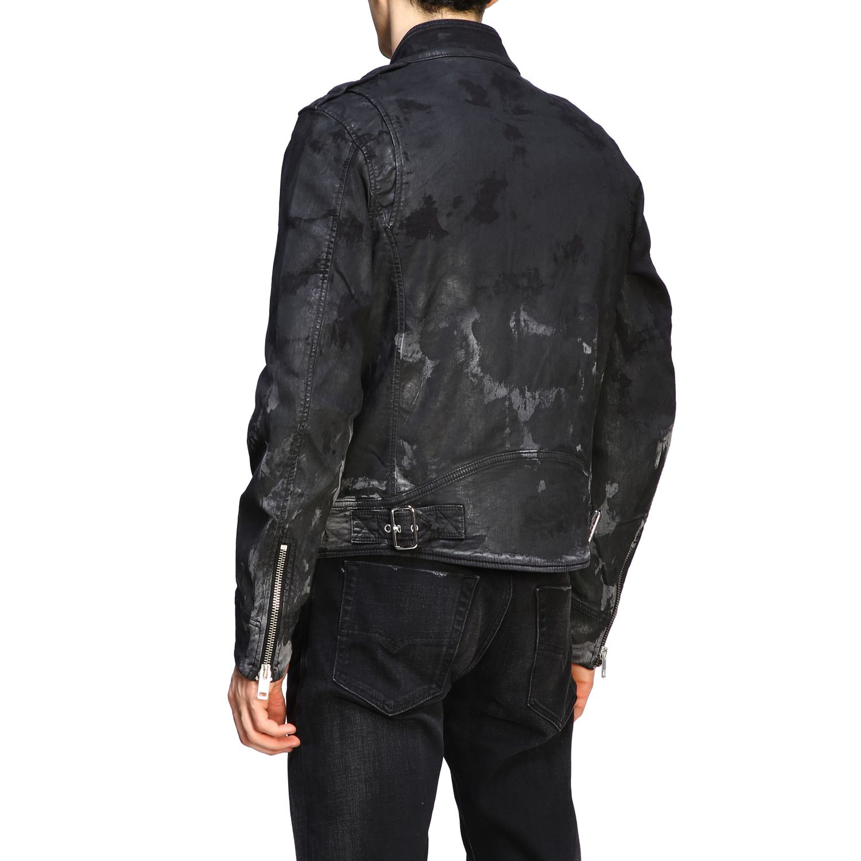 Jacke Diesel: Diesel Biker Jacke schwarz 3