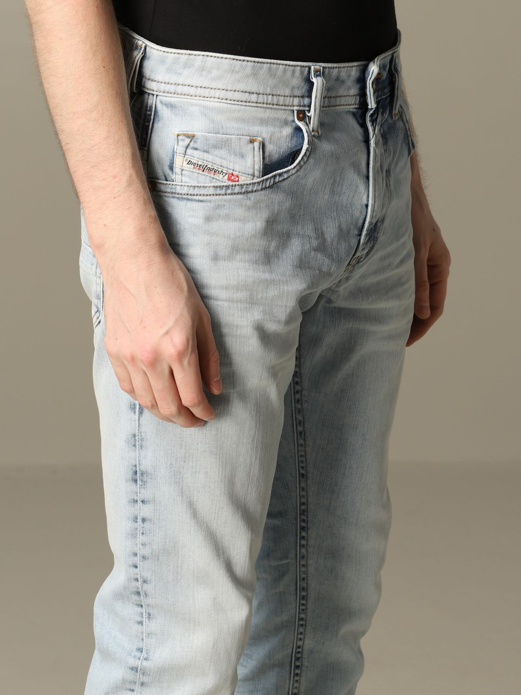 Jeans Diesel: Jeans men Diesel stone washed 3