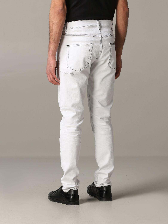 Jeans Diesel: Jeans men Diesel white 3