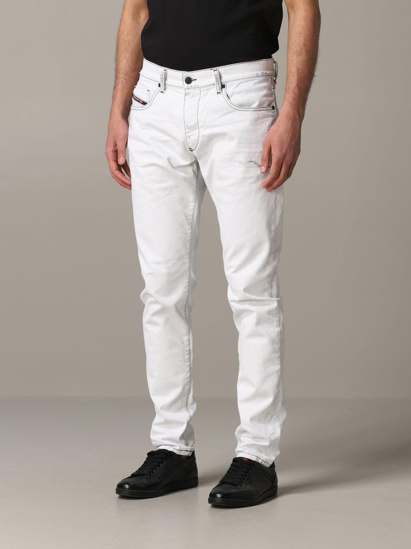 Jeans Diesel: Jeans men Diesel white 4