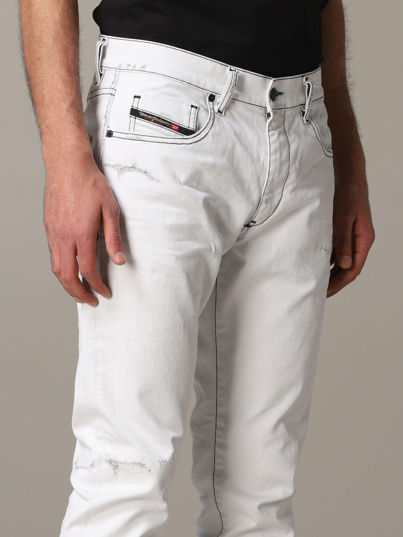 Jeans Diesel: Jeans men Diesel white 5