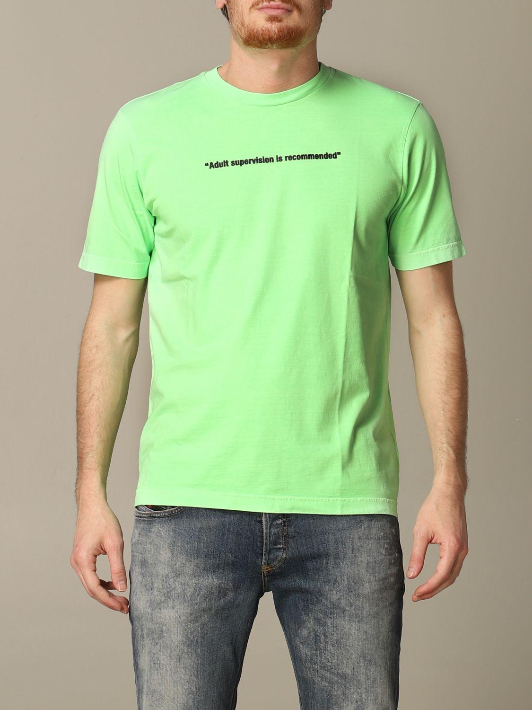 T-Shirt Diesel: T-shirt herren Diesel grün 1
