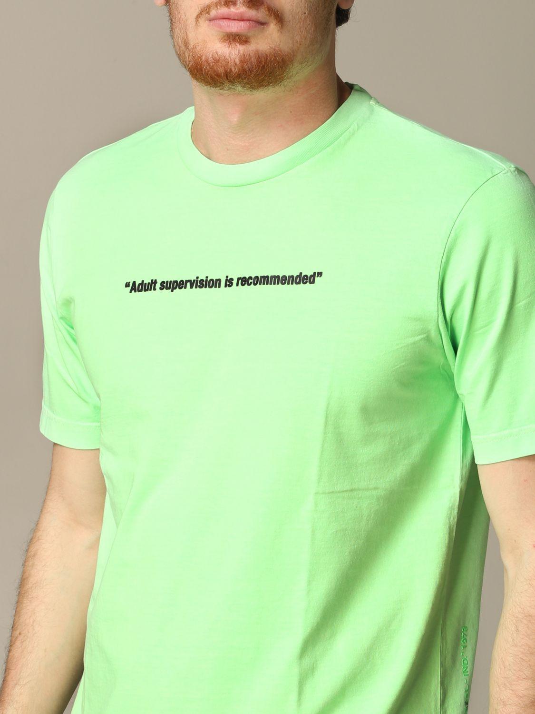 T-Shirt Diesel: T-shirt herren Diesel grün 3