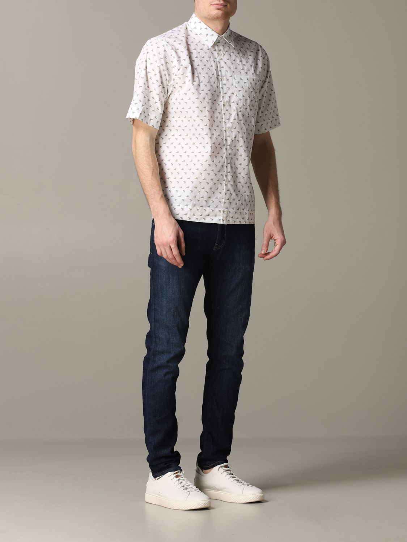 Shirt Diesel: Shirt men Diesel white 2