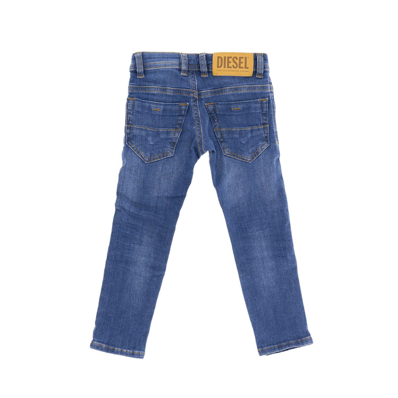 Diesel slim fit jeans in used denim denim 2