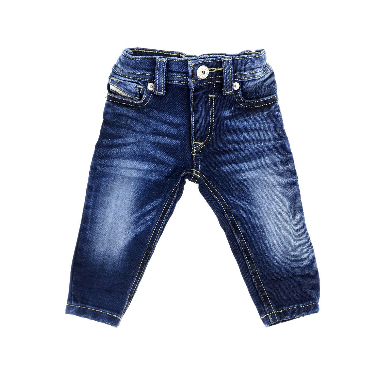 Jeans Diesel: Jeans Sleenker Diesel skinny in denim used blue 1