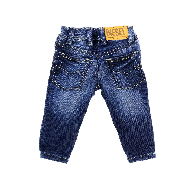 Jeans Diesel: Jeans Sleenker Diesel skinny in denim used blue 2