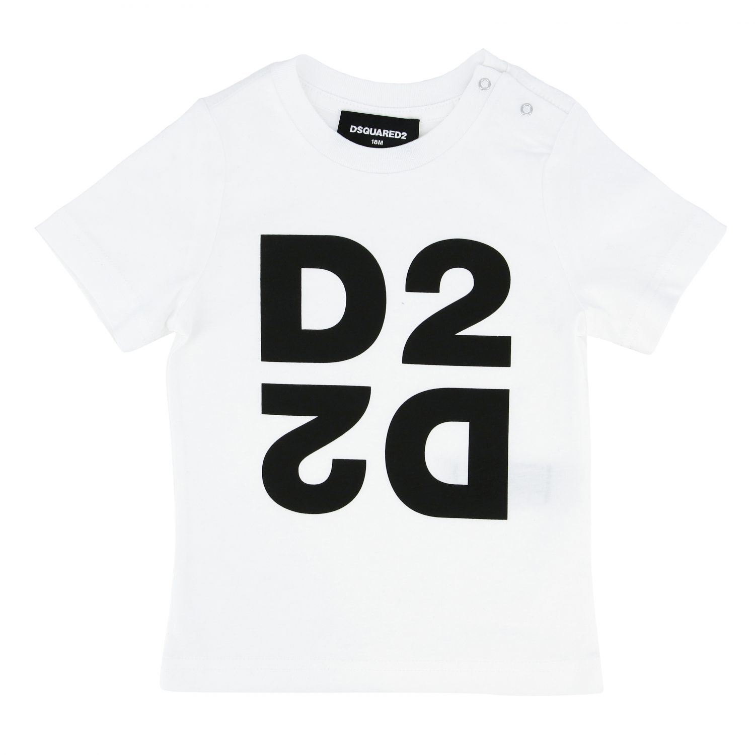 Dsquared2 Junior short-sleeved T-shirt with logo white 1