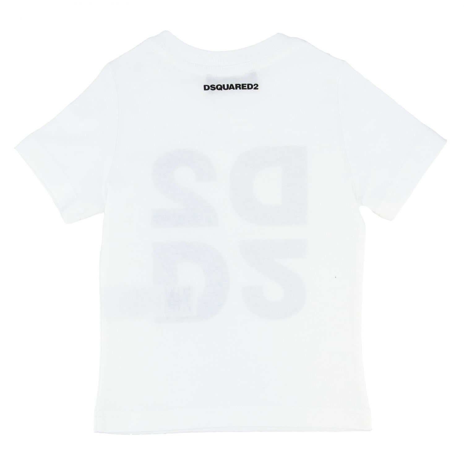 Dsquared2 Junior short-sleeved T-shirt with logo white 2