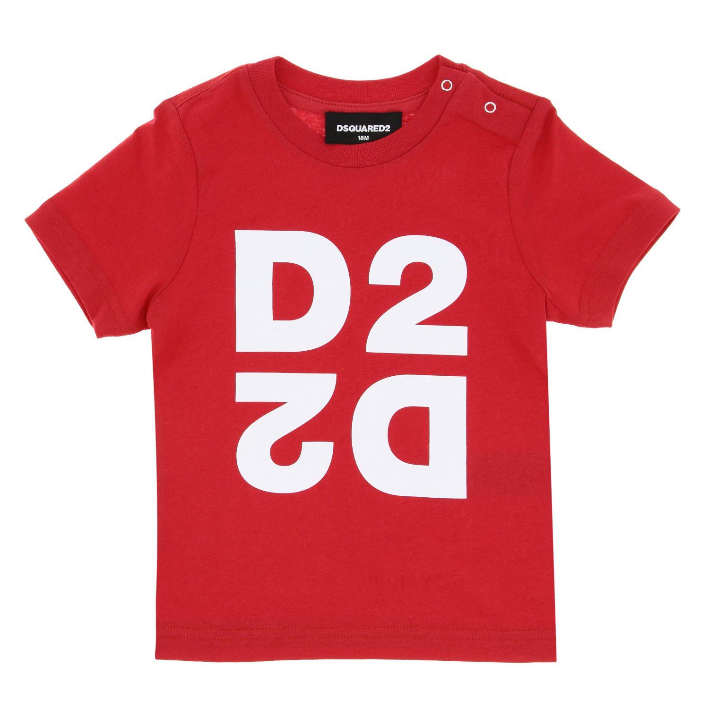 Футболка Детское Dsquared2 Junior красный 1