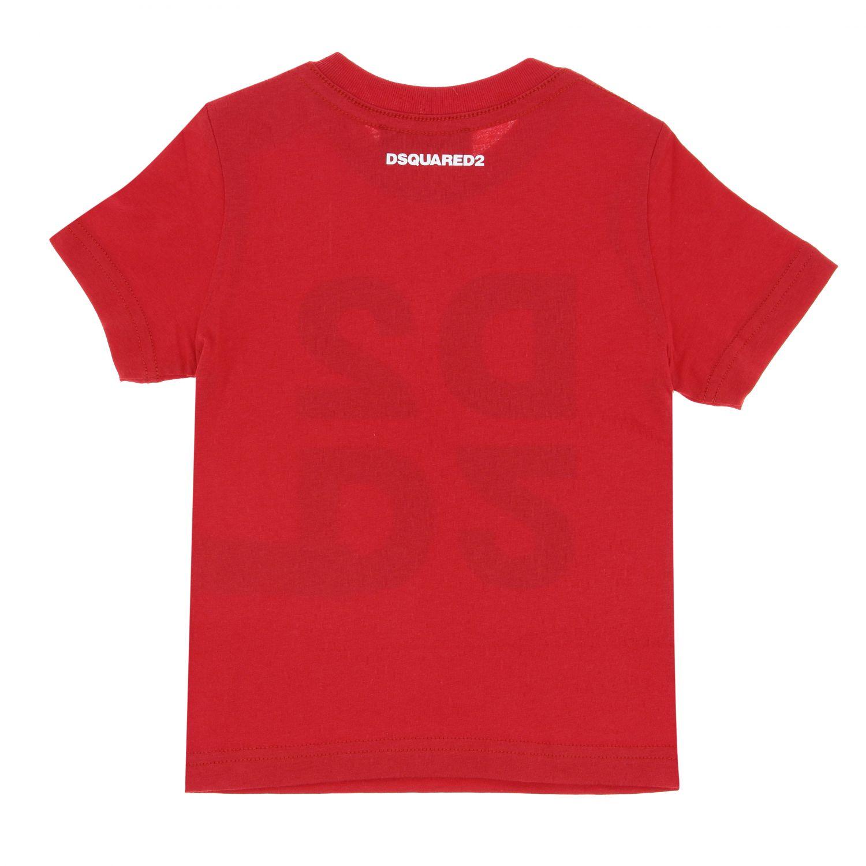 Футболка Детское Dsquared2 Junior красный 2