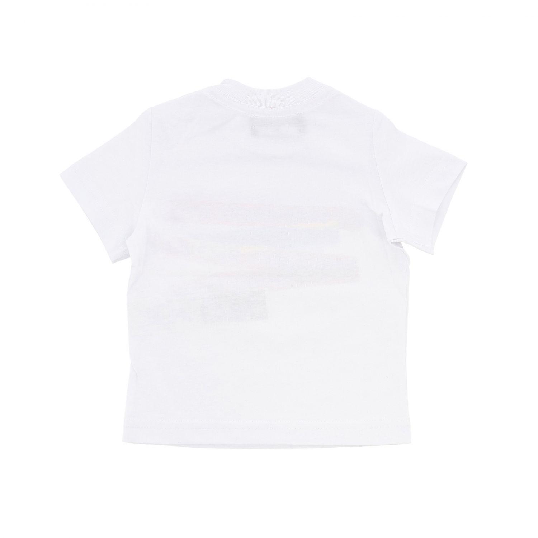 T-shirt Dsquared2 Junior: T-shirt Dsquared2 Junior a maniche corte con logo bianco 2