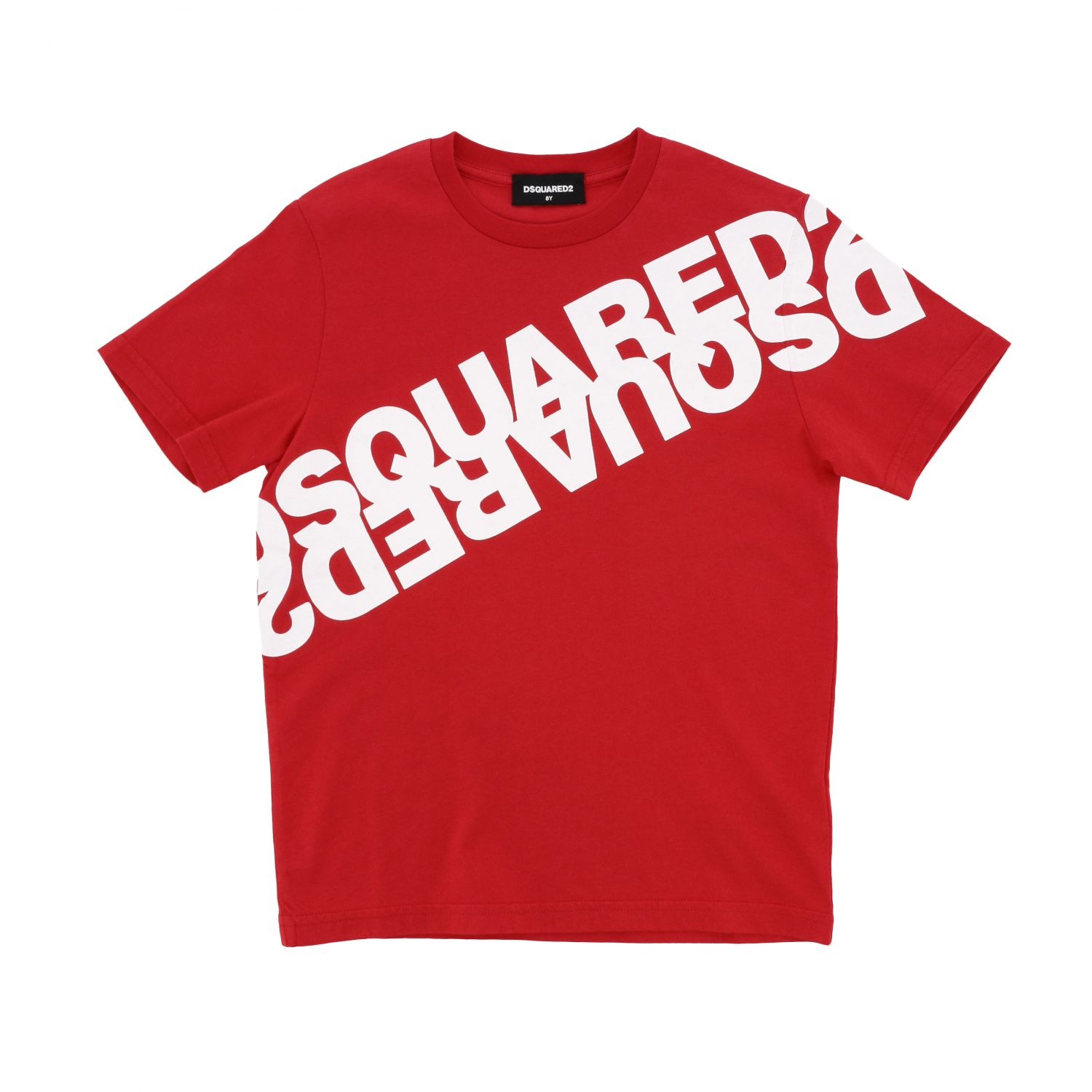 Dsquared2 Junior short-sleeved T-shirt with logo red 1