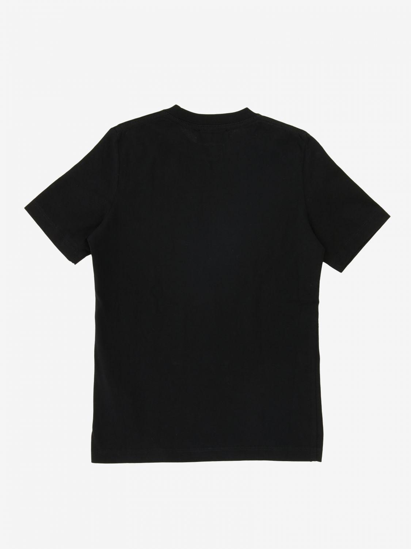 T-shirt Dsquared2 Junior à manches courtes avec logo noir 1 2
