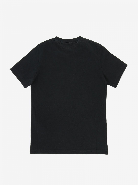 T恤 Dsquared2 Junior: Dsquared2 Junior logo印花T恤 黑色 2