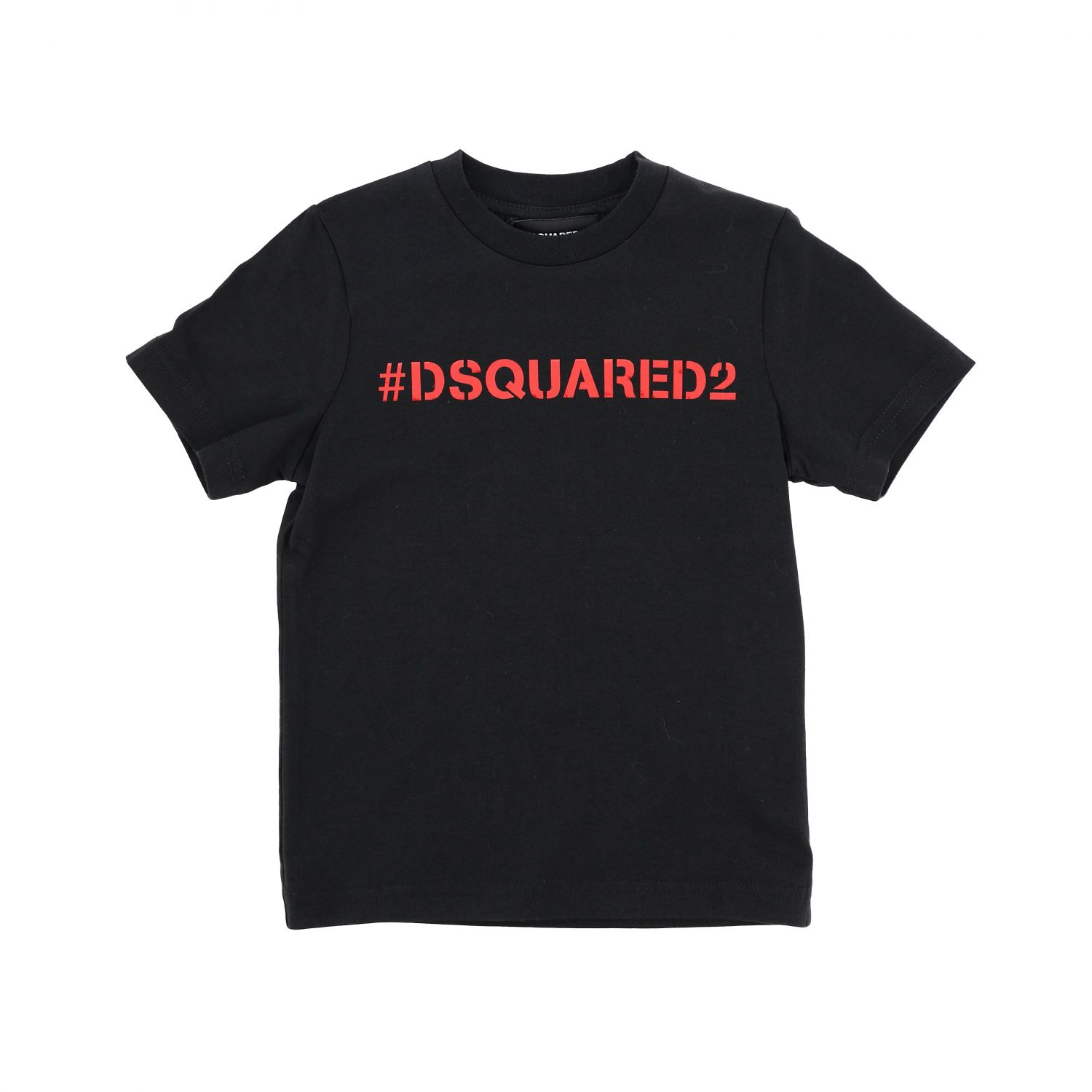 Dsquared2 Junior short-sleeved T-shirt with logo black 1