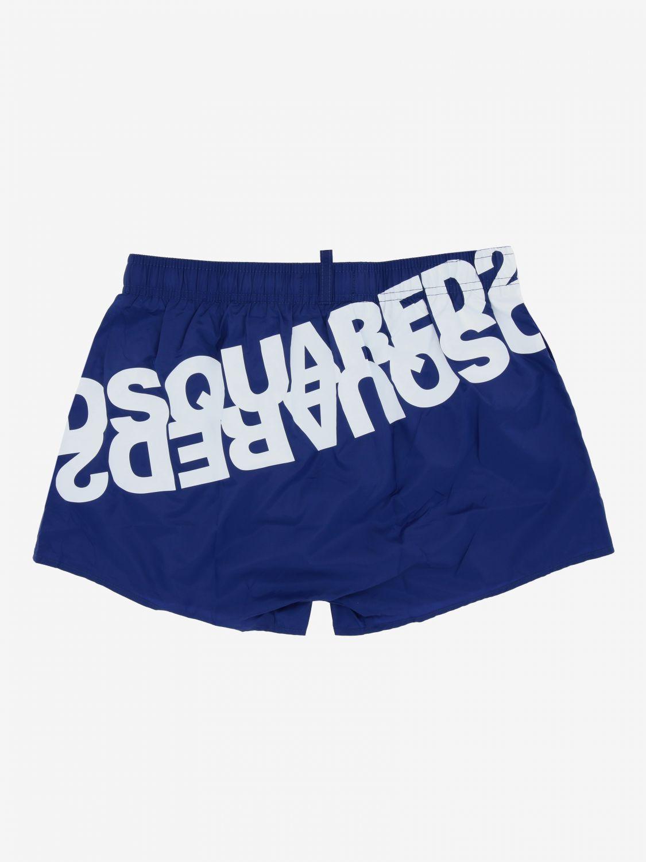 Costume Dsquared2 Junior: Costume Dsquared2 Junior a boxer con logo royal 2
