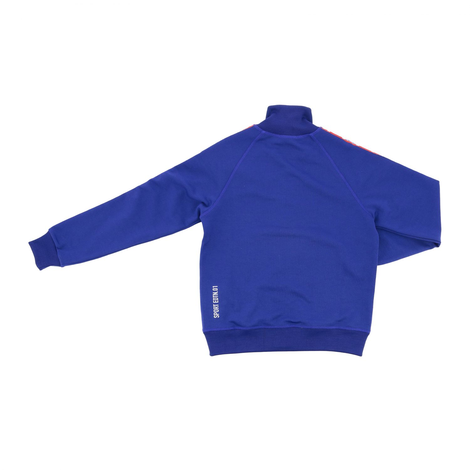 Maglia Dsquared2 Junior: Felpa Dsquared2 Junior con zip e logo royal 2