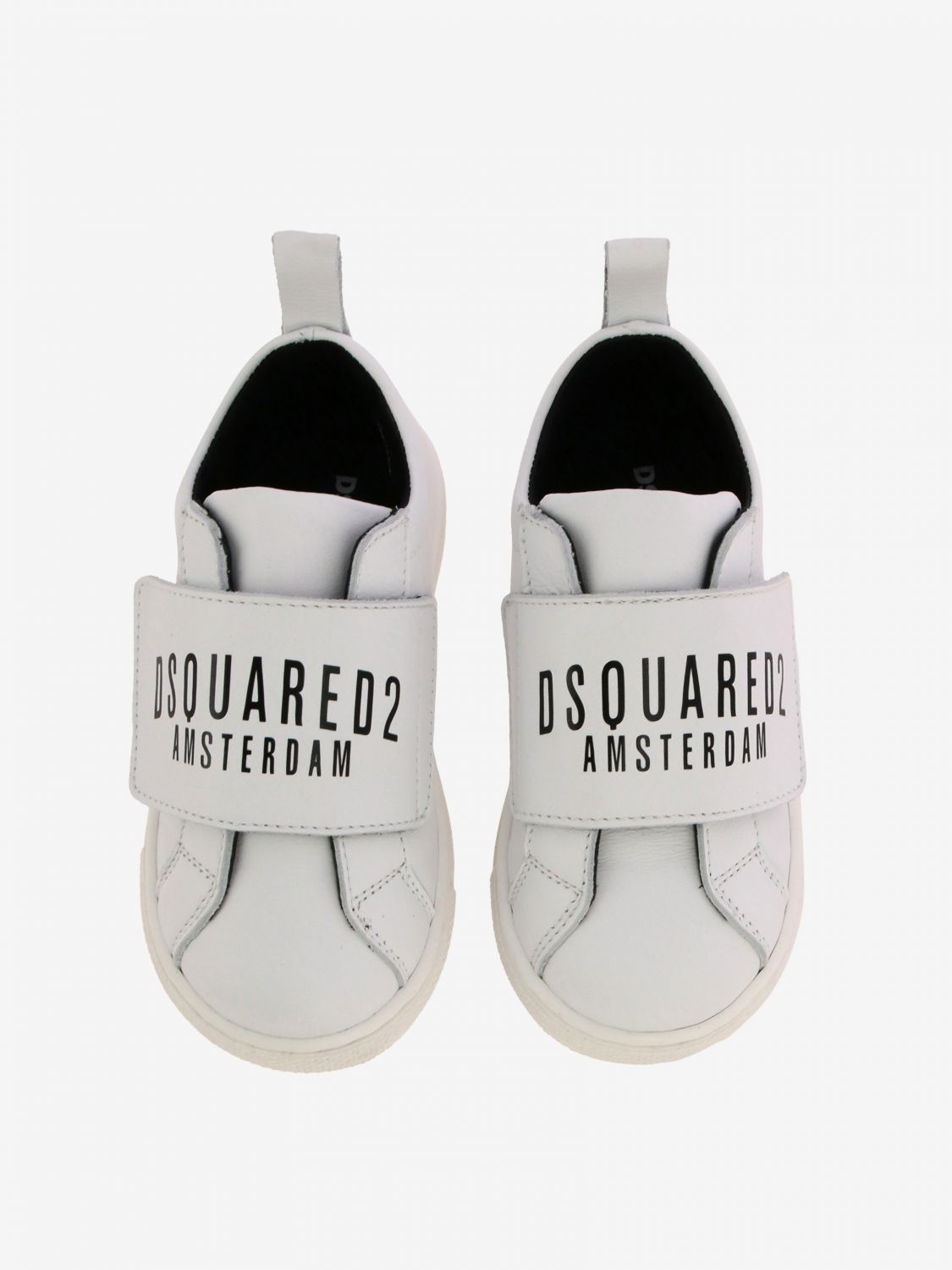 Shoes kids Dsquared2 Junior white 3