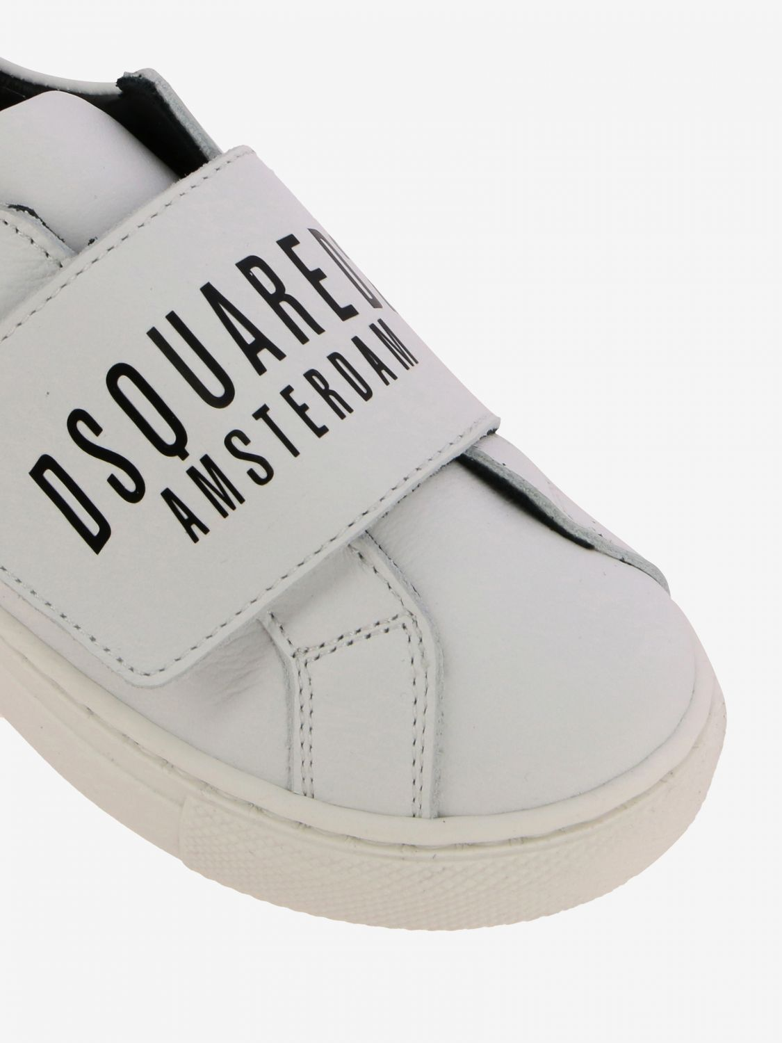 Shoes kids Dsquared2 Junior white 4