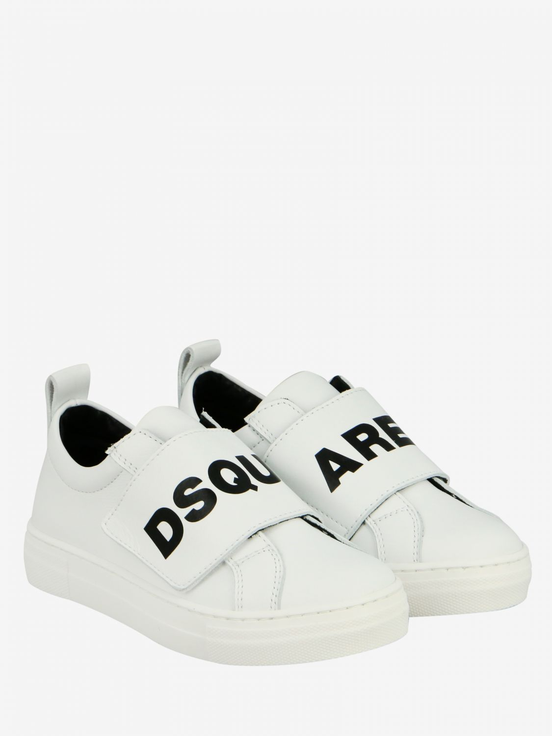 Shoes kids Dsquared2 Junior white 2