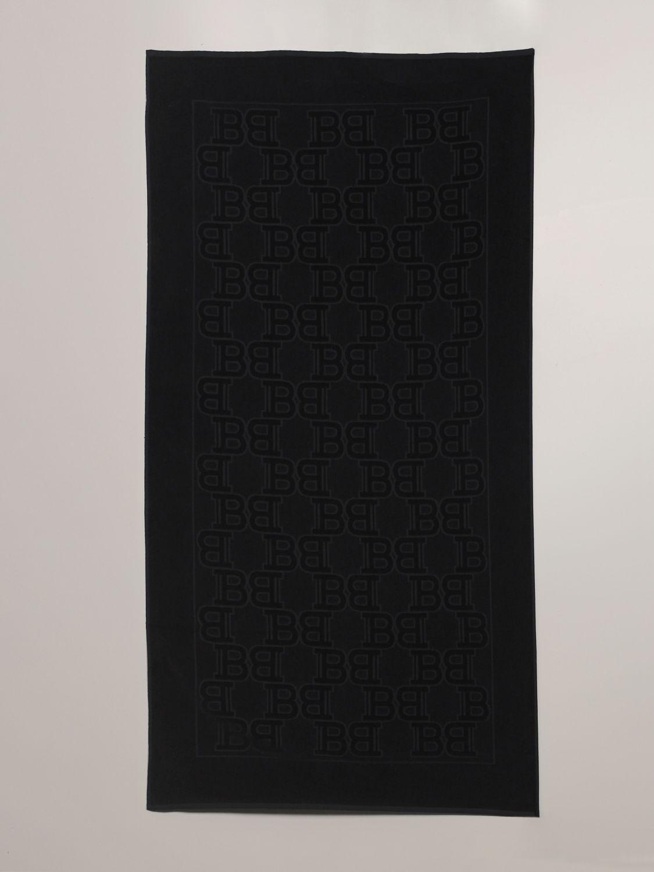 浴巾 Balmain: 浴巾 男士 Balmain 黑色 1